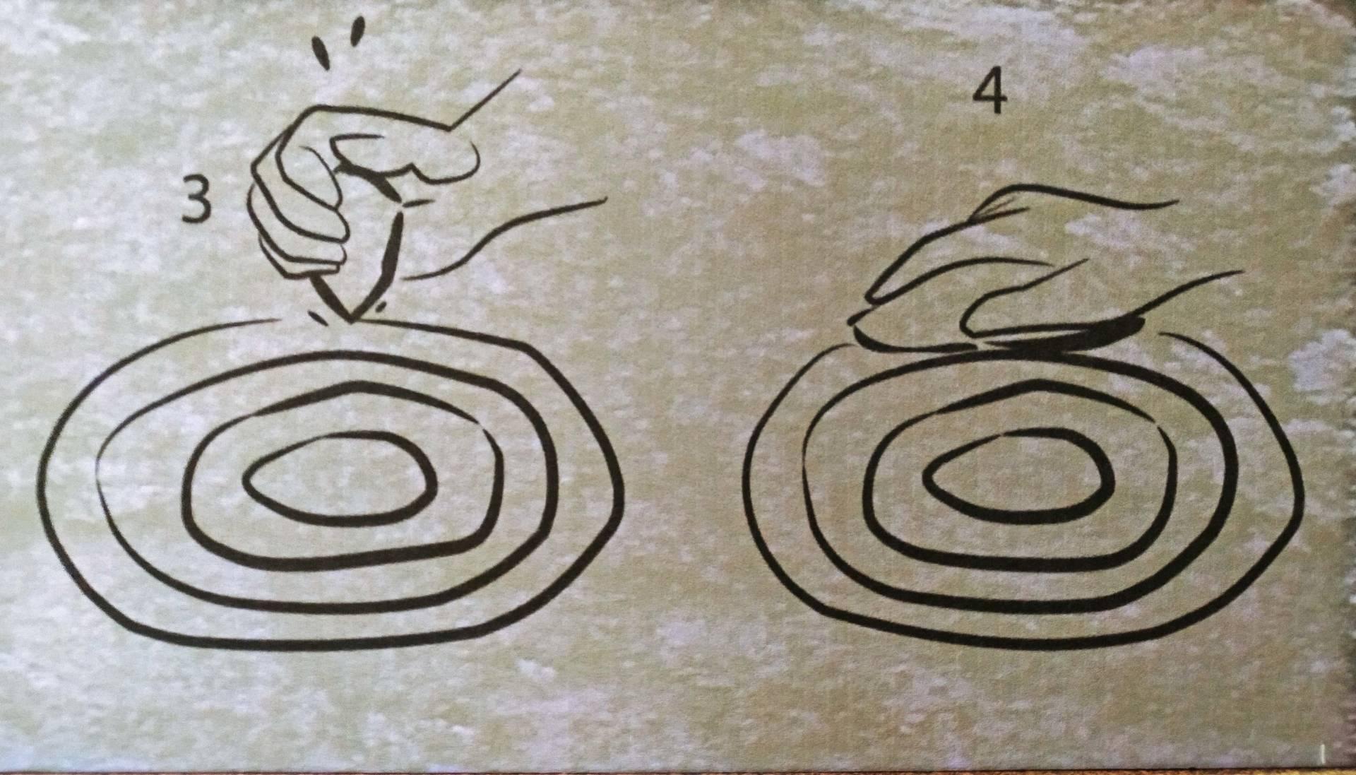 Proceso de gravado dun petróglifo (PAAR).