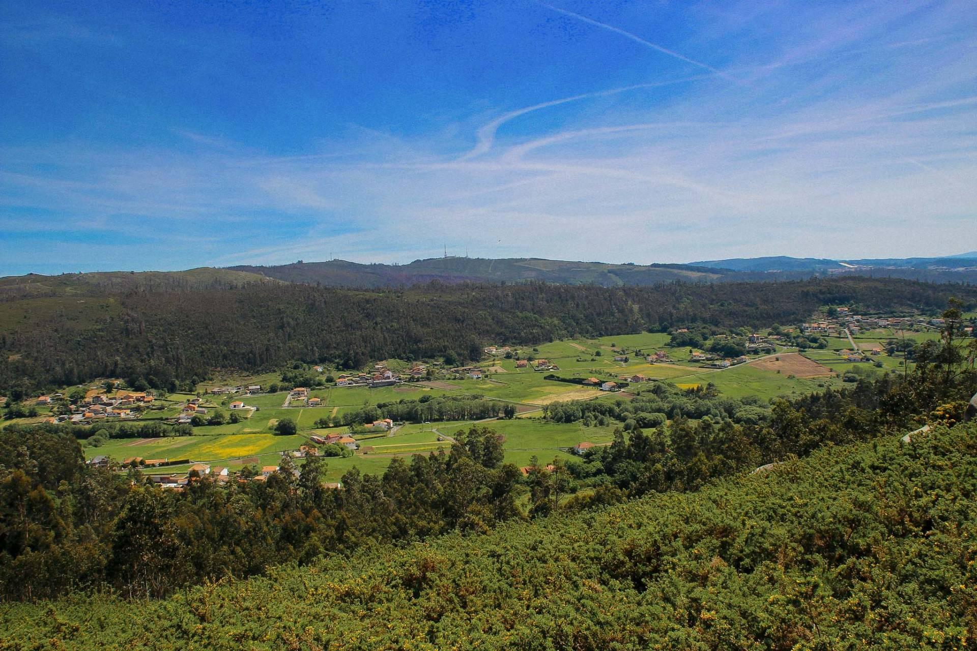 Val de Villestro desde o Monte San Miguel.©Colectivo a Rula.