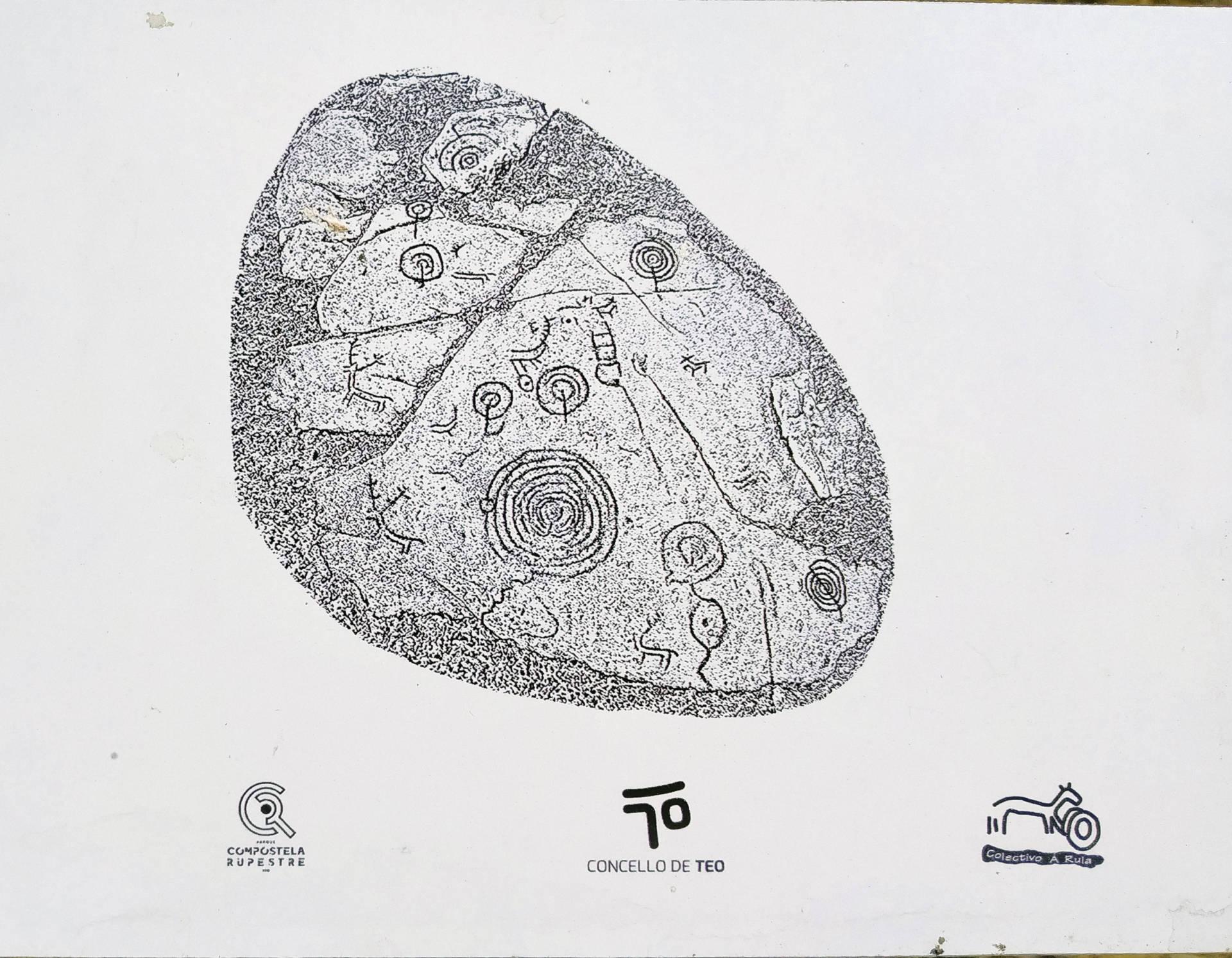 Calco de Pedra Bicuda de Loureiro.