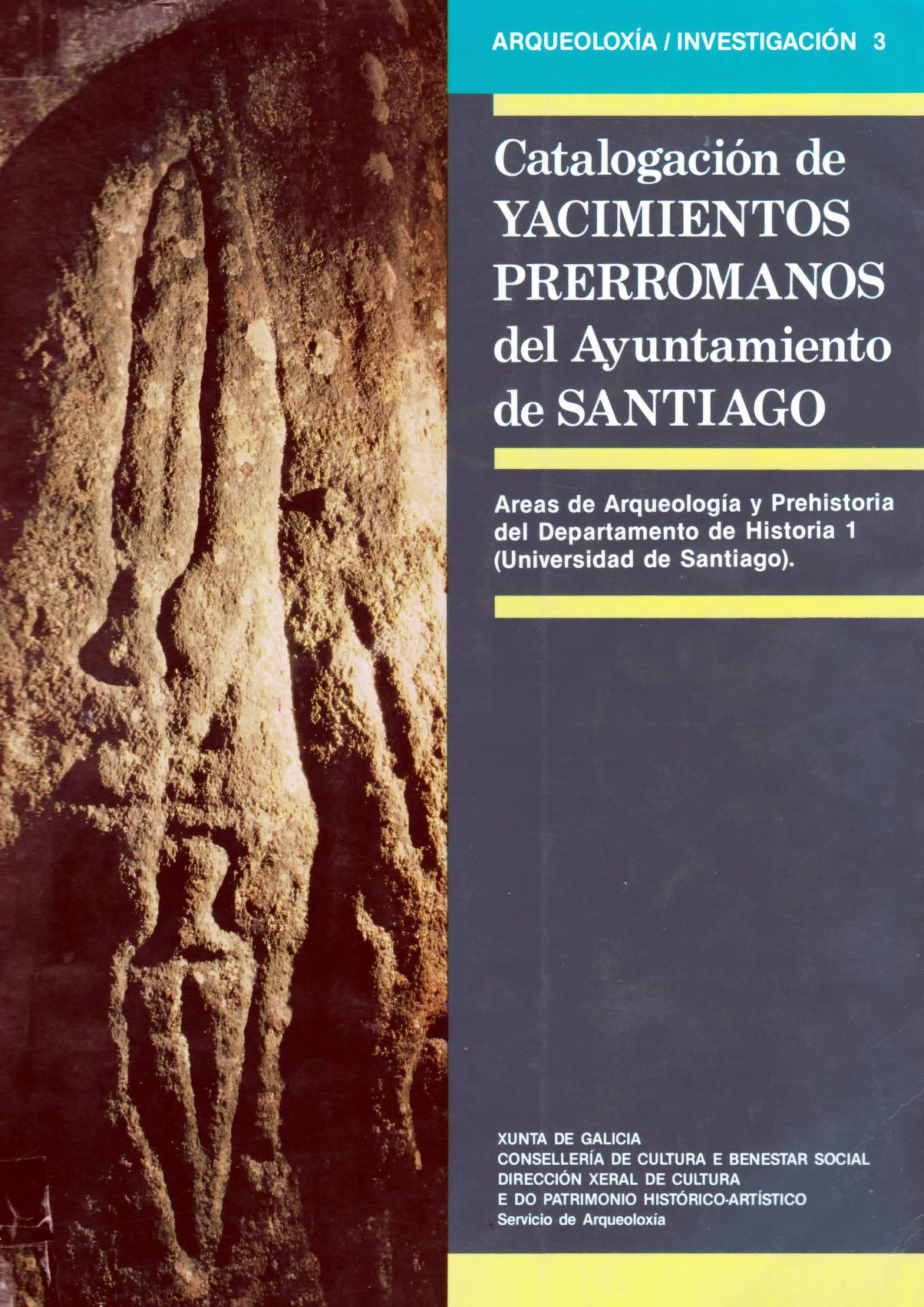 Catálogo Xacementos do Concello de Santiago 1987.