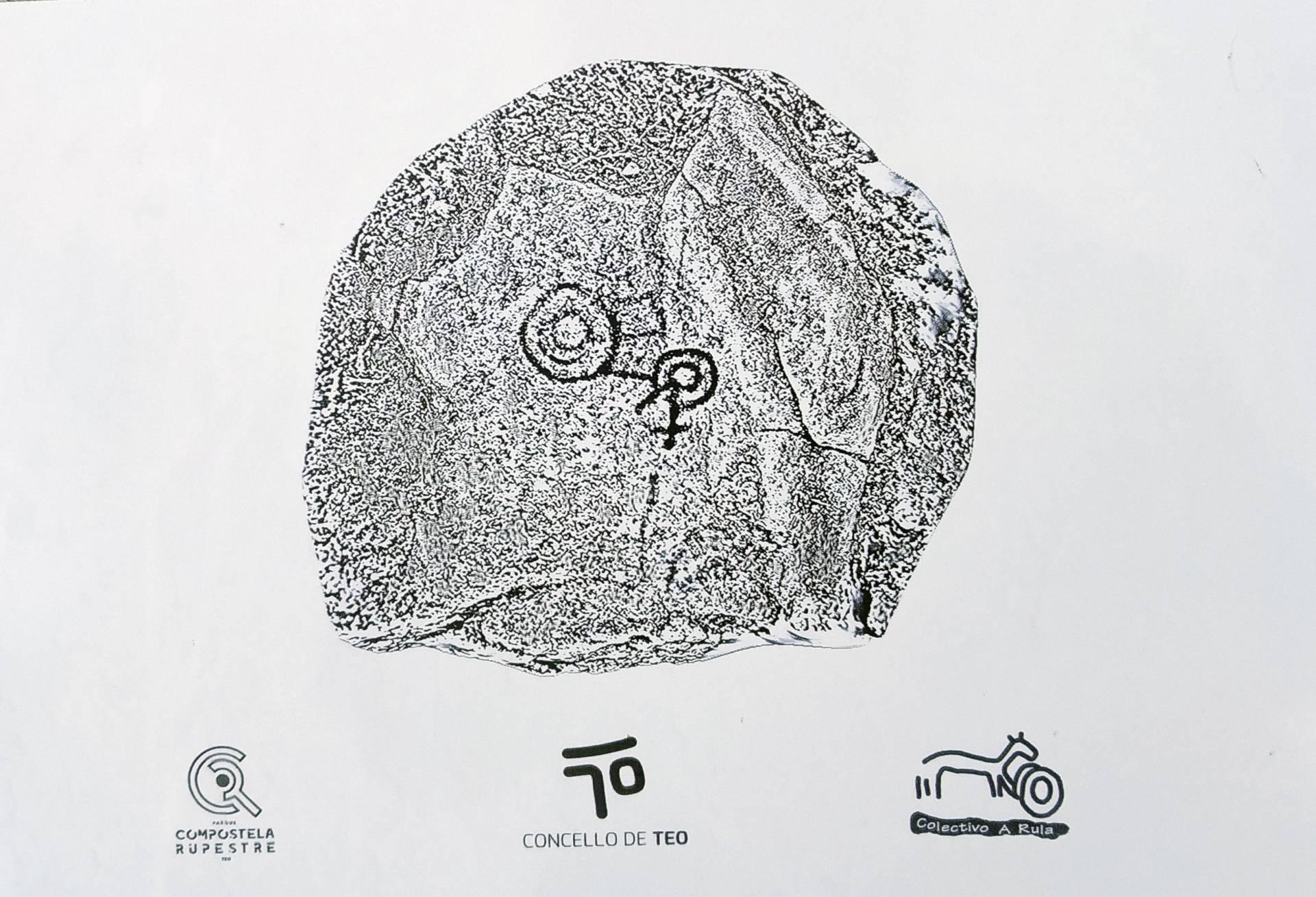 Calco de Pedra Bicuda de Regoufe.
