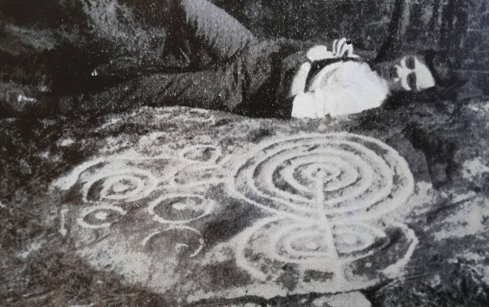 Acuña Castroviejo en Río Angueira 1 en 1969.