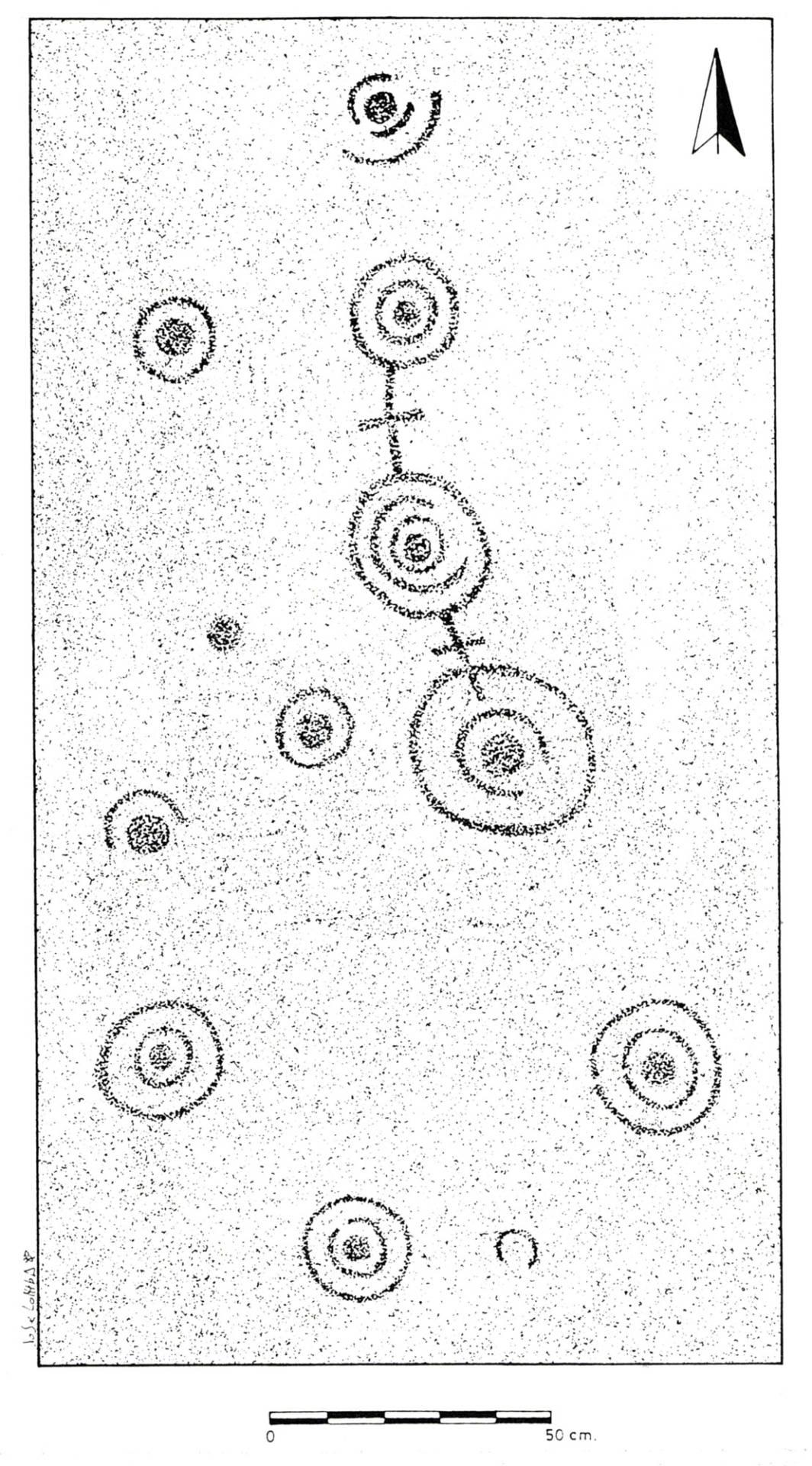 Calco da Pedra que Fala. Xosé Lomba.1987