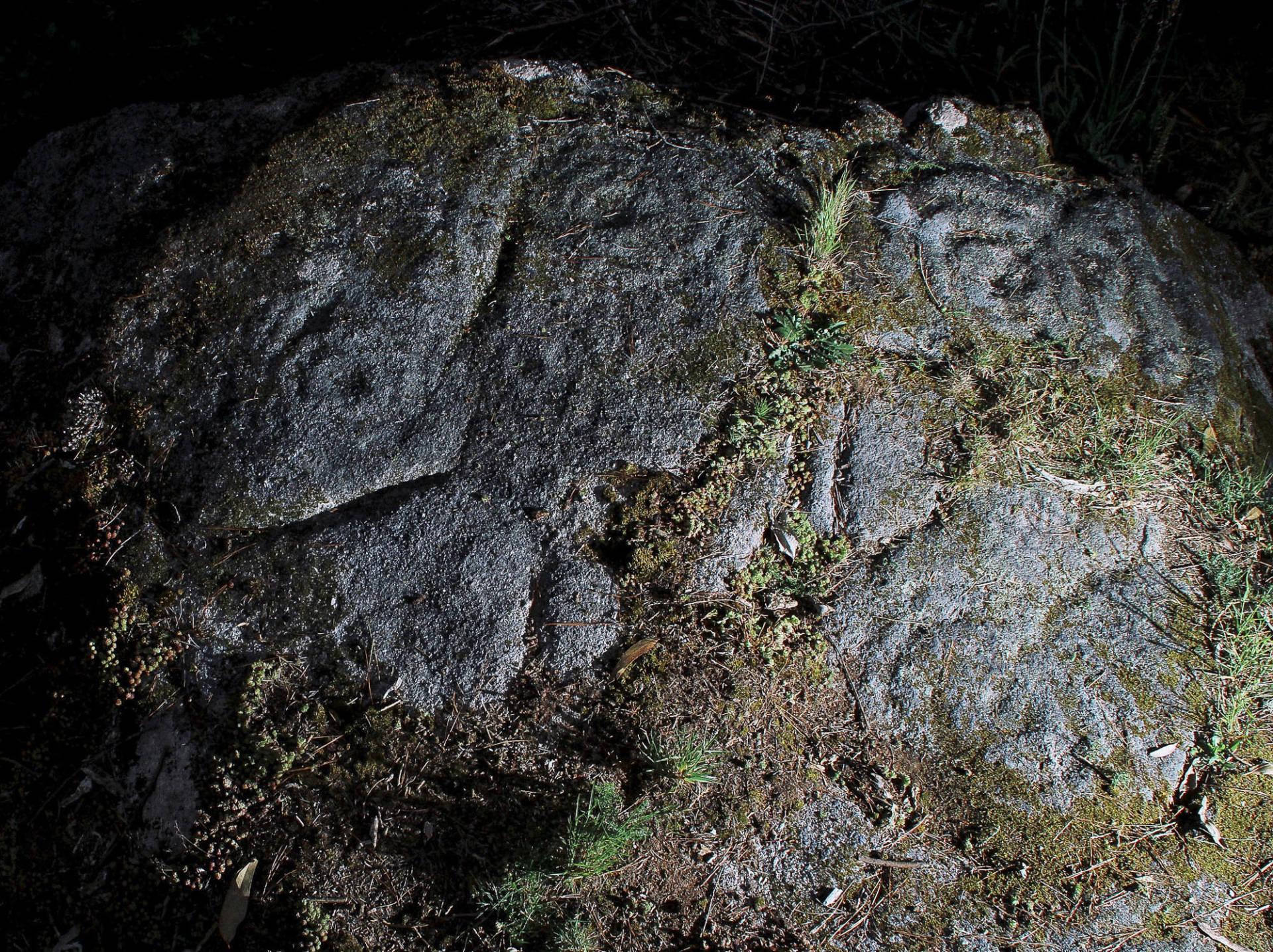 Vista xeral de motivos xeométricos en Oca.©Colectivo a Rula